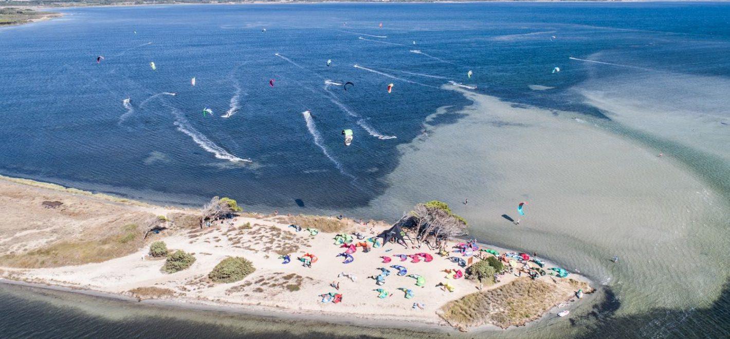 Kitesurf in Sardinia - Punta Trettu