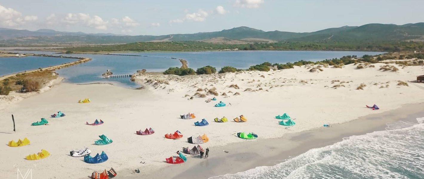 Kitesurf in Sardinia - Porto Pino